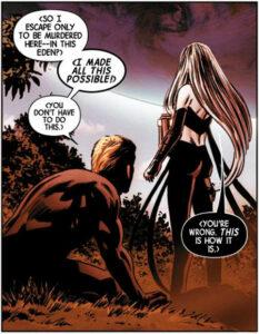 New Avengers #1. Teksti: Jonathan Hickman. Kuvitus: Steve Epting, Rick Magyar ja Frank d'Armata.