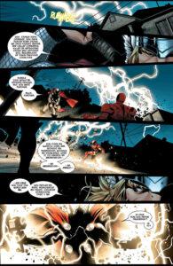 The Mighty Thor (Vol 3) #3 (2007). Teksti: J. Michael Straczynski. Kuvitus: Olivier Coipel, Mark Morales ja Laura Martin.